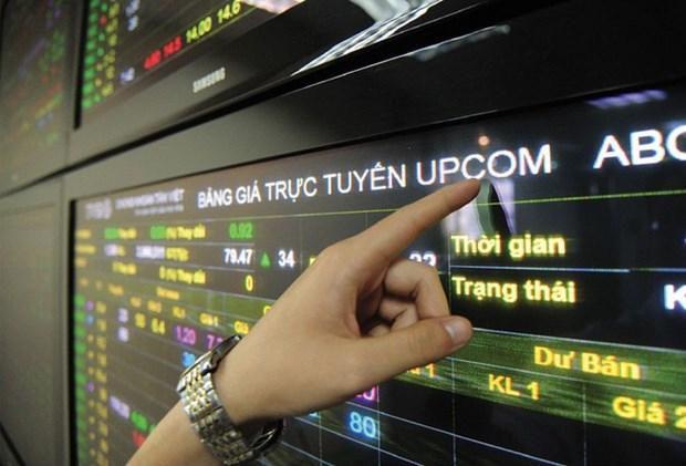 高山煤炭公司及河内钢铁公司的4800万只股在UPCoM上正式交易 hinh anh 1