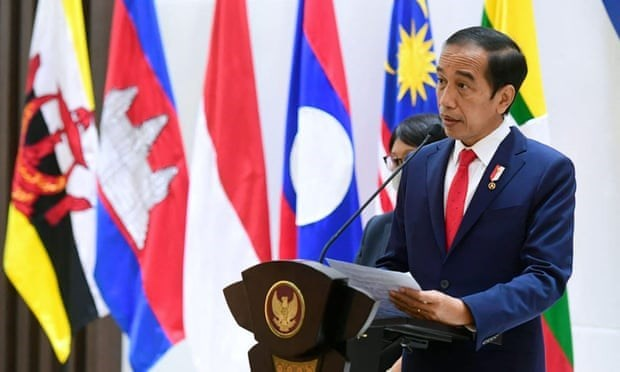 印尼与柬埔寨促进卫生、经济、投资和防务等领域的合作 hinh anh 1