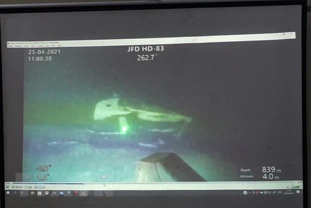 印尼潜艇失事事件:印尼向国际求助打捞潜艇残骸 hinh anh 1