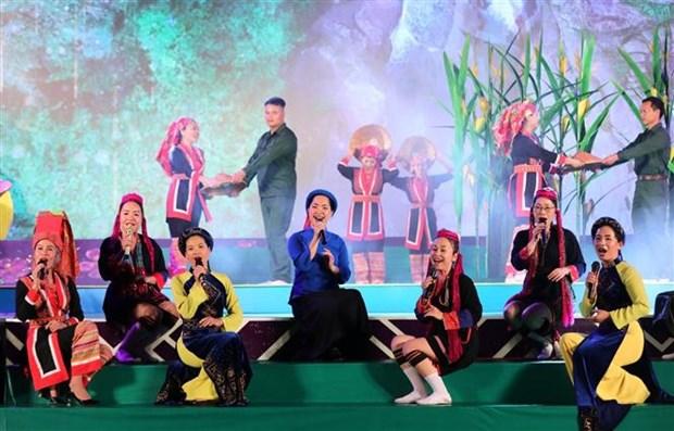 广宁省平辽各民族文化体育日是推介当地各民族同胞独特传统文化的良机 hinh anh 2