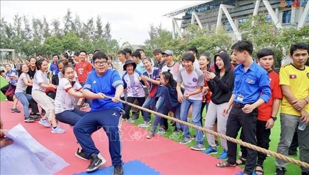 越老柬三国文化交流活动在胡志明市举行 hinh anh 2