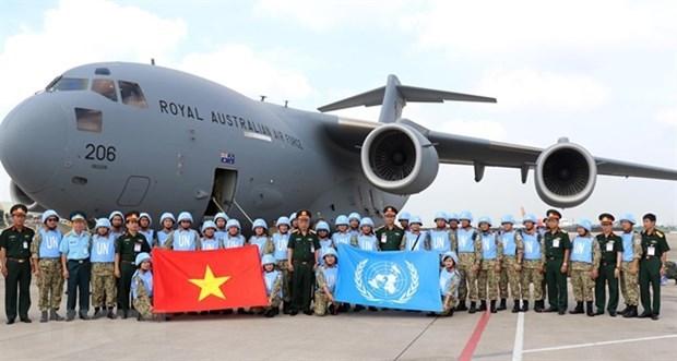 越南与澳大利亚就南苏丹维和任务加强合作关系 hinh anh 1
