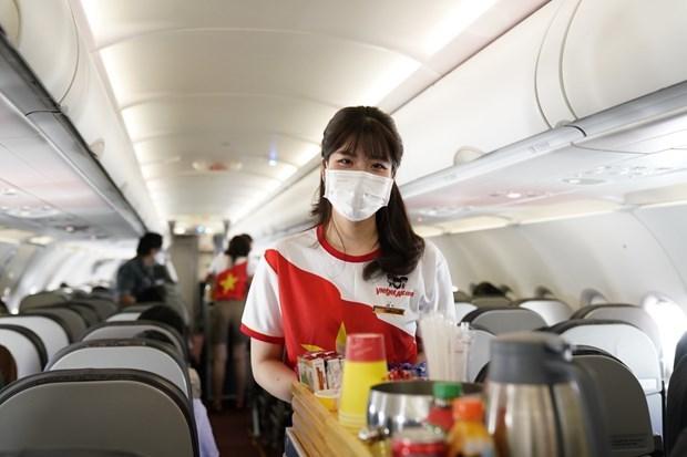 越捷航空推出新促销活动:快乐健康生活 乘机安全出行 hinh anh 1