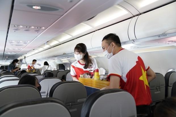 越捷航空推出新促销活动:快乐健康生活 乘机安全出行 hinh anh 2