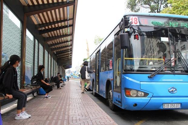 胡志明市着力发展清洁燃料公交车 hinh anh 2