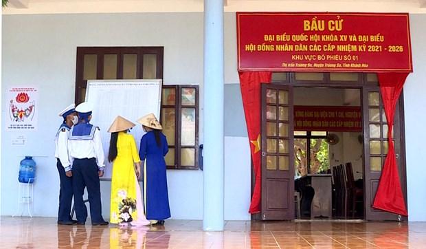 长沙群岛为迎接国家选举日做好准备 hinh anh 4