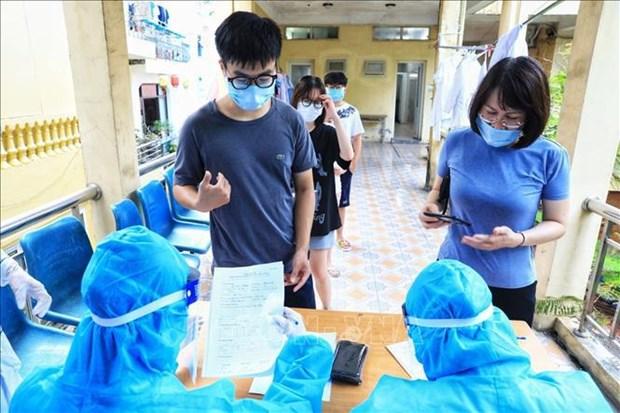 5月26日早上越南新增80例本土病例 全国累计接种人数1034072人 hinh anh 1