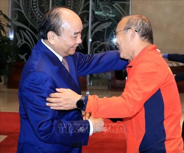 2022年世界杯亚洲区预选赛第二轮比赛:越南国家主席致信勉励国家足球队 hinh anh 2
