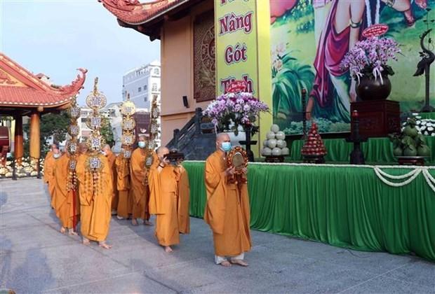 新冠肺炎疫情:越南佛教协会将举行10人以下规模的佛诞节 hinh anh 1