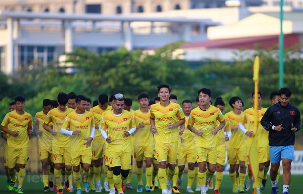 2022年世界杯亚洲区预选赛第二轮比赛:越南国家主席致信勉励国家足球队 hinh anh 1