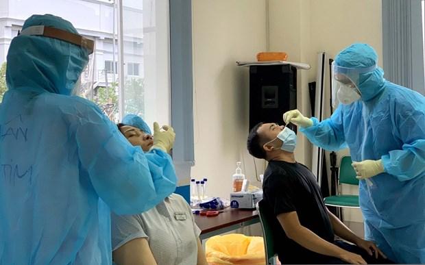 6月3日中午越南新增96例本土确诊病例 hinh anh 1