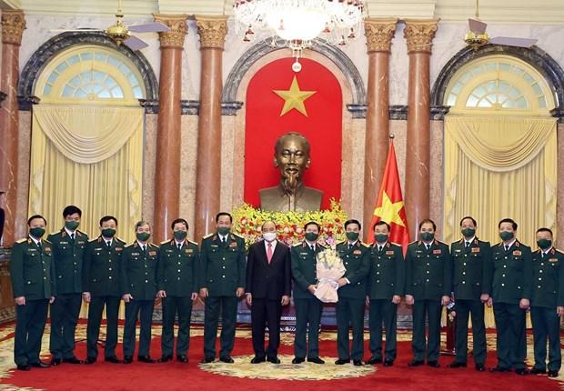 阮新疆上将担任越南人民军总参谋长一职 hinh anh 2