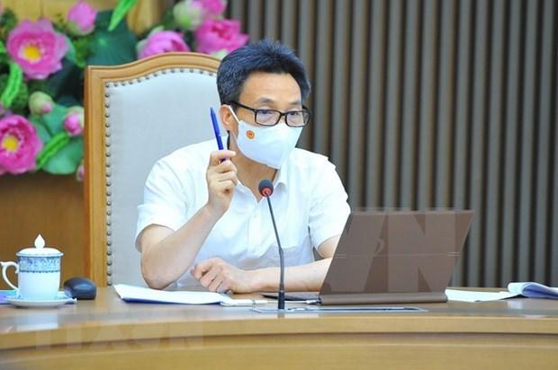 胡志明市部署机器人自动打电话询问市民健康状况和及时进行核酸检测 hinh anh 1