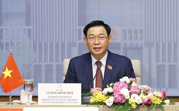 加强越南与柬埔寨全面友好合作关系 hinh anh 1