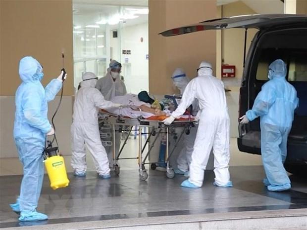 新冠肺炎疫情:5日中午越南新增确诊病例247例 新增死亡病例4例 hinh anh 1