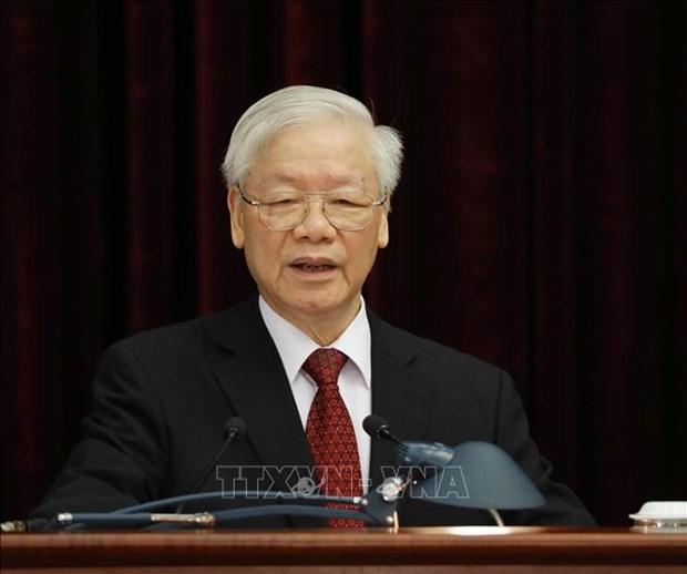 越共第十三届中央委员会第三次全体会议:加强党建和政治体系建设工作 满足新一阶段的革命需求 hinh anh 1