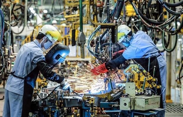 2021年前7月平福省工业生产指数增长15.63% hinh anh 1