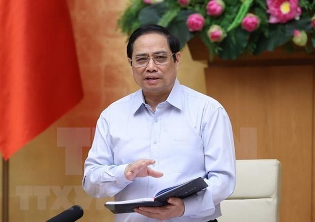 越南政府总理发动特殊竞赛运动 全国团结携手 同心协力防控并战胜疫情 hinh anh 1