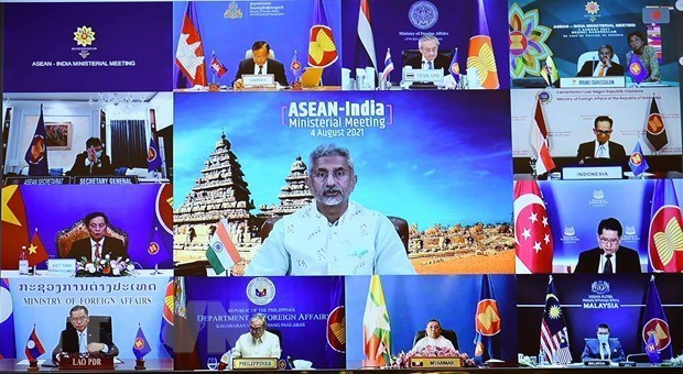 """""""东盟-印度发展伙伴计划""""启动庆祝双边关系建立30周年 hinh anh 1"""