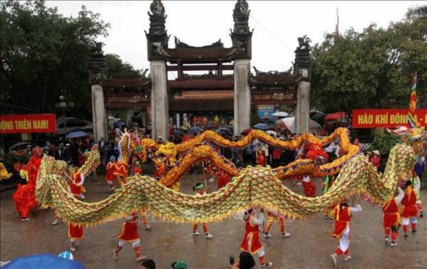 国家非物质文化遗产:太平省陈祠庙会 hinh anh 1