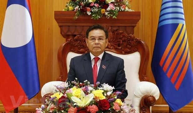 AIPA-42: 老挝国会主席高度赞赏越南的倡议 hinh anh 1