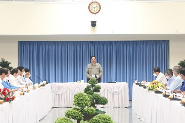 范明政总理:各级政府必须将人民视为防疫核心和主体 hinh anh 1