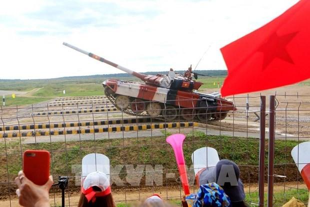 2021年国际军事比赛:越南人民军参赛队在各场比赛中表现出色 hinh anh 2