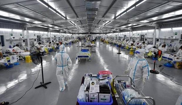 阮青龙: 1.6万多名医生和专家已赴胡志明市和南方各省支援疫情防控工作 hinh anh 1