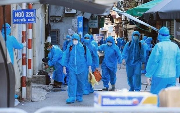 8月30日上午河内市新增新冠肺炎确诊病例45例 均为隔离人员 hinh anh 1