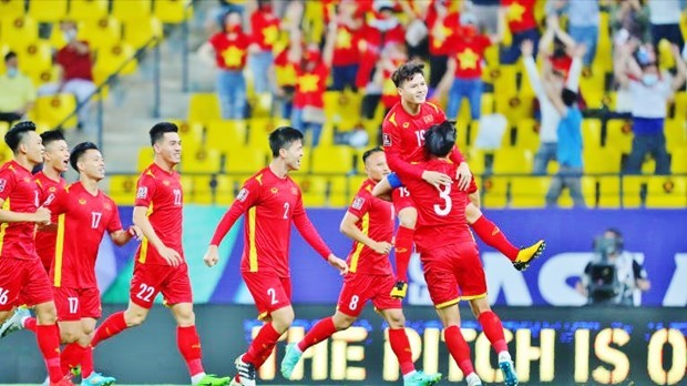 2022年卡塔尔世界杯亚洲区预选赛12强赛:沙特队主场3-1反超越南队 hinh anh 2