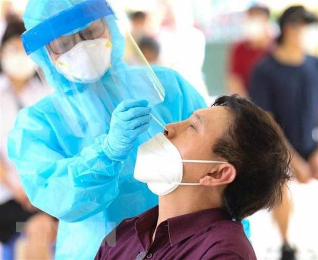 9月8日中午河内新增35例确诊病例 7例在社区中发现 hinh anh 1