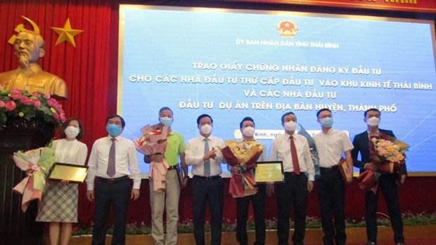 太平省引进的投资项目数量增加 为该省经济社会发展注入巨大动力 hinh anh 1