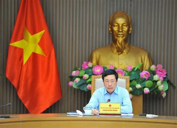 范平明副总理:尽快完成受疫情影响较小省份的投资项目 hinh anh 1