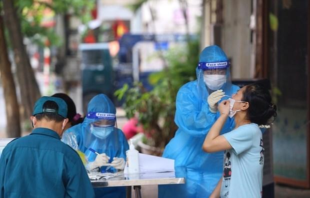 15日上午河内市新增新冠肺炎确诊病例11例 hinh anh 1