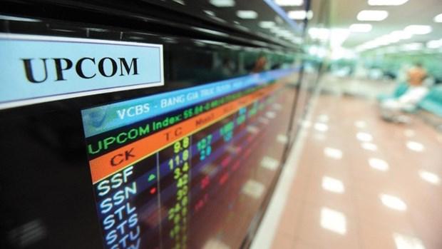 9月份UPCoM流动性增长20% 境外投资者净买入3780亿越盾 hinh anh 1