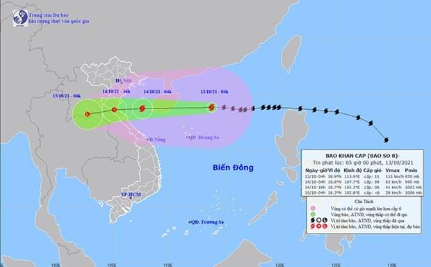 黎文成副总理:8号台风袭击确保人员安全疏散 hinh anh 1