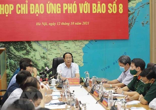 黎文成副总理:8号台风袭击确保人员安全疏散 hinh anh 2