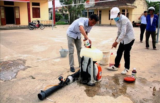 Quang Binh: Tang cuong cac bien phap phong chong benh sot xuat huyet hinh anh 1
