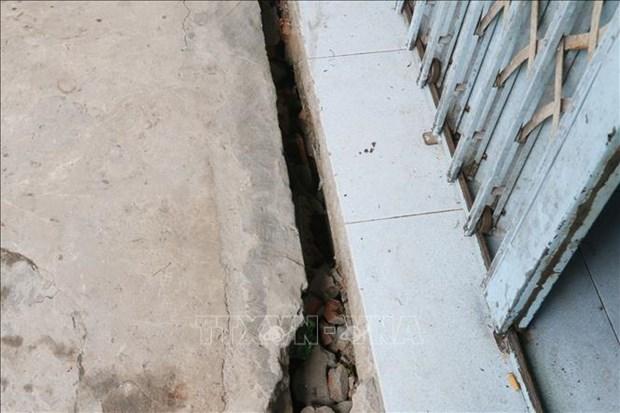 An Giang: Di doi 14 ho dan trong vung sat lo dat ven bo rach Cai San hinh anh 1