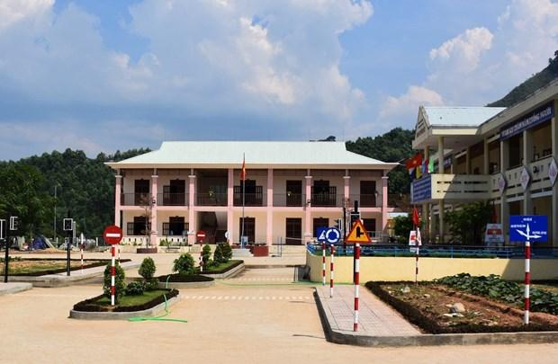Truong Pho thong Dan toc Ban tru Tieu hoc Tra Tap khoi day tinh yeu bien dao cho hoc sinh hinh anh 1