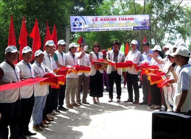 Quang Ngai: Dua vao su dung cay cau tai vung thuong xuyen bi co lap do mua lu hinh anh 1