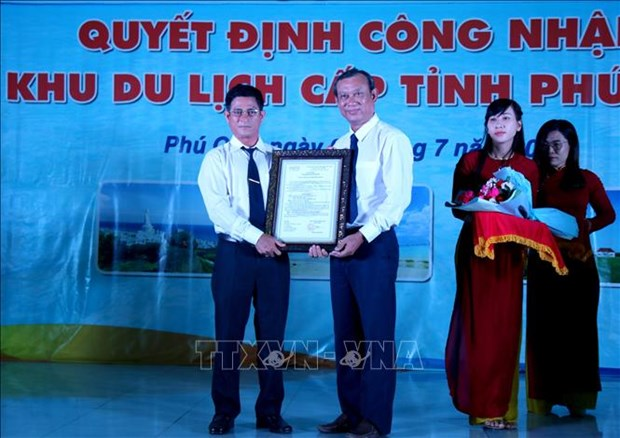 Cong nhan Phu Quy la Khu du lich cap tinh cua Binh Thuan hinh anh 1