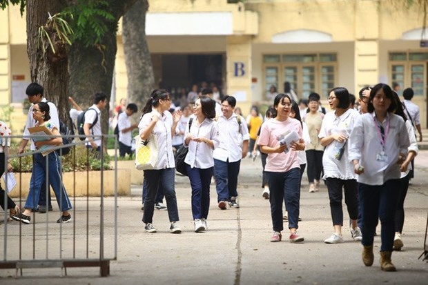 Thi tot nghiep Trung hoc pho thong 2020: Cong bo 132 hoc sinh duoc mien thi va xet tuyen thang vao dai hoc hinh anh 1