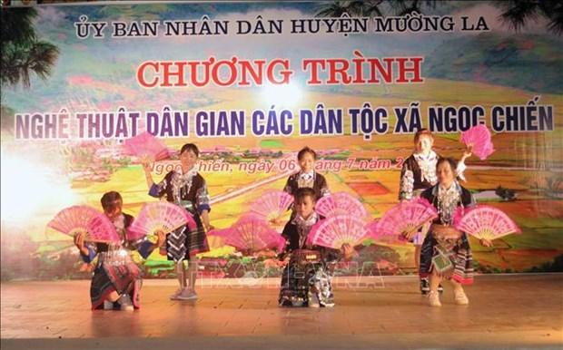 Doc dao mo hinh du lich cong dong Ngoc Chien o huyen Muong La hinh anh 1