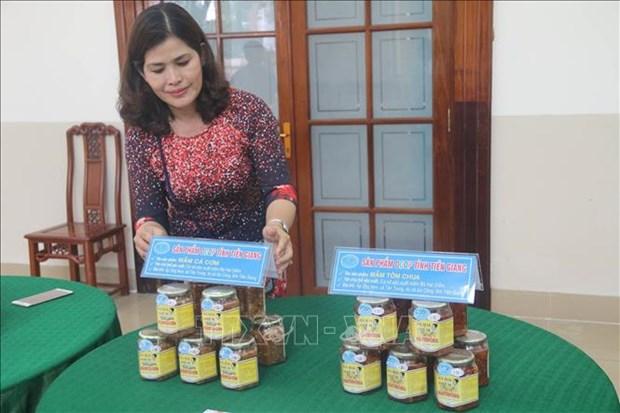 Tien Giang cong bo them 6 san pham duoc cap chung nhan san pham OCOP hinh anh 1