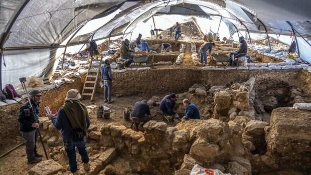 Israel phat hien trung tam luu tru 2.700 nam tuoi hinh anh 1