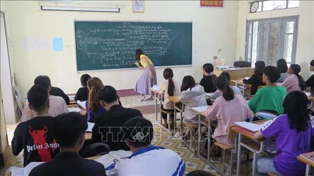Vung cao Lai Chau chu dong phuong an bao dam an toan cac diem thi mua mua lu hinh anh 1