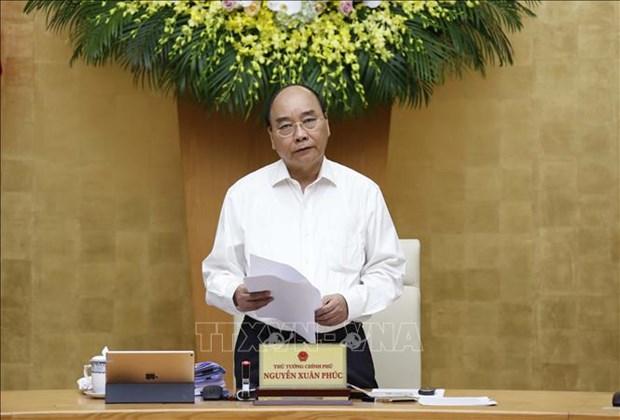 """Thu tuong Chinh phu Nguyen Xuan Phuc: Don moi nguon luc va bang moi giai phap xu ly triet de """"o dich"""" hinh anh 1"""