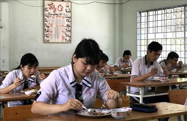 Thanh Hoa: Thi sinh khu vuc mien nui tham du Ky thi tot nghiep Trung hoc Pho thong 2020 duoc ho tro suat an mien phi hinh anh 1