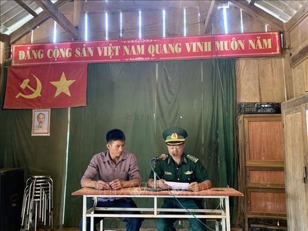 Dich COVID-19: Bien phong Son La tang cuong phong, chong dich tren tuyen bien gioi hinh anh 3